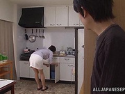 Miki Sato mature Japanese chick in hardcore action