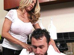 Mommy Got Boobs: Haircuts and Handjobs