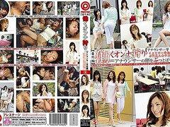 Yukimi Saya, Asuka Mimi in [Announcer] Part 5 Working Woman Hunt