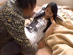 Japanese Babe Sucks, Fucks And Gets Creampied