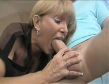 Mature Mom making not her son cum