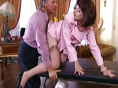 Angela Tiger-HouseWife fucked by two Doctors