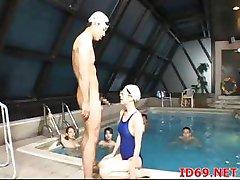 Japanese Pool Girls