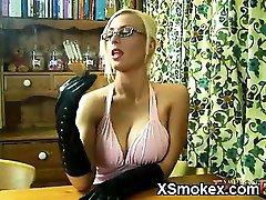 Juicy Smoking Chick Wild XXX