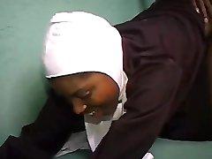 African Nun sucking