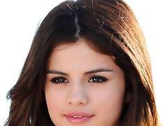 Sexy Selena Gomez Jerk off challenge