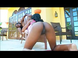Chanel Staxxx & Her Friend Enjoy Each Other's Compa
