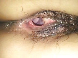 Asian girlfriend anal and wet gaping hole