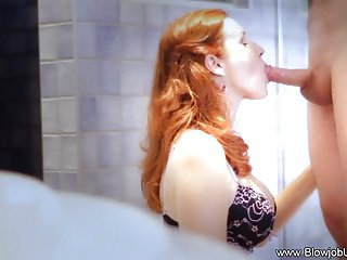 Beautiful and Erotic Blowjob MILF