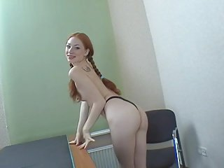 anal training for redhead stacey