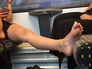 Candid feet #92