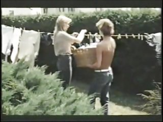 MILF seduces the boy next door- vintage