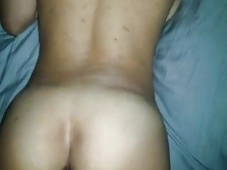 Homemade girl first time anal creampie