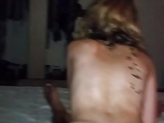Amazing latina milf gets pussy fucked by young man