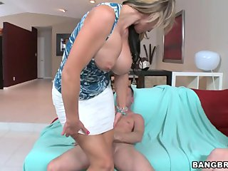 MT - milf walks in on her daughter