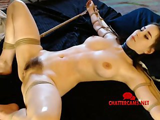 Teen BDSM Tied Up Spanked Slapped Anal Toyed