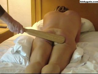 after such a spanking it is difficult to sit