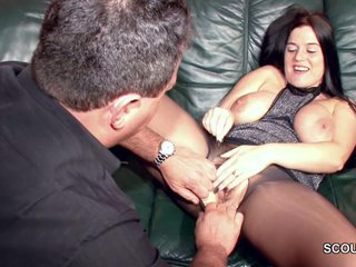Hairy German MILF in Nylon get Hard Fuck
