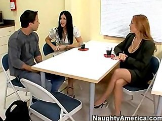 Janet Mason and India Summer sex teacher