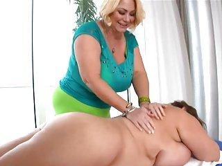 Deep massage for a donut