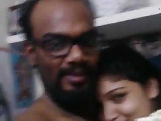 Cute southindian girl fun with her hubby