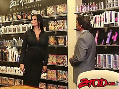 Jasmine Jae is going to take it on the office table