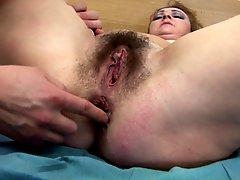 Mature Mary's anal creampie